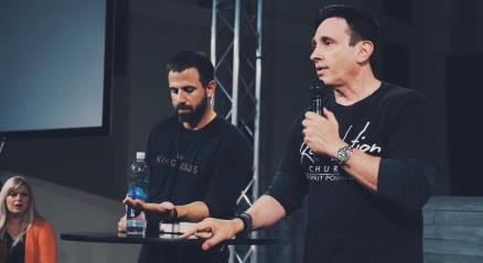 Michael & Pastor Joe